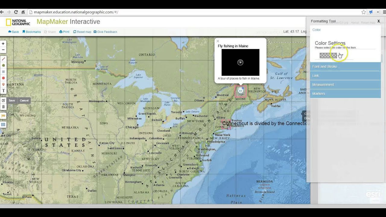 An Overview of National Geographic\'s Map Maker Interactive - YouTube