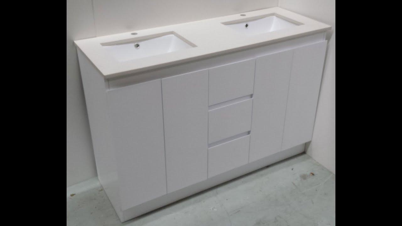 Buy Bathroom Caesarstone Vanity Melbourne [White-1200,1500 ...