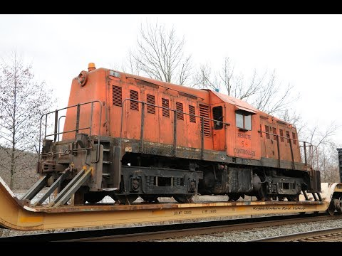 (HD) Rare Whitcomb 65-Tonner On Q560 In Amsterdam, NY!!! Ft. K141 [4-18-18]