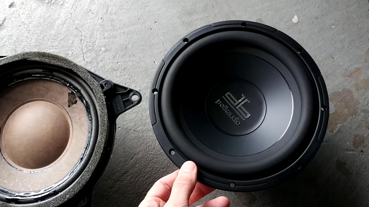 Lexus Ls430 Sub Woofer Replacement And Interior Removal Youtube Dual Voice Coil Subwoofer Wiring 2 Ohm Coils