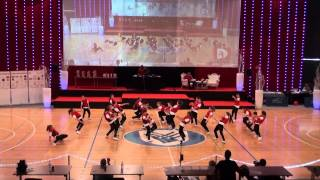 2. mesto Little Dance Beasts (pionirska hiphop formacija PSNM) DP - 2015
