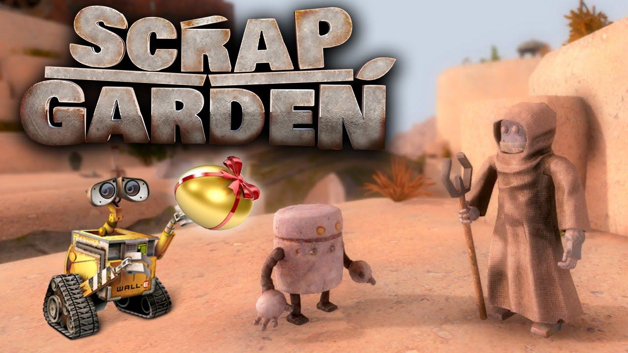 scrap garden demo part 1ending hidden pixar wall e easter eggs secrets gameplay review - Scrap Garden
