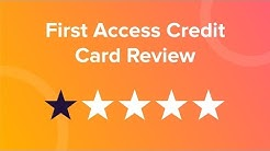 First Access Credit Card Review