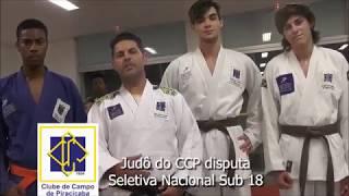 JUDÔ - CBI: Seletiva Nacional Sub 18