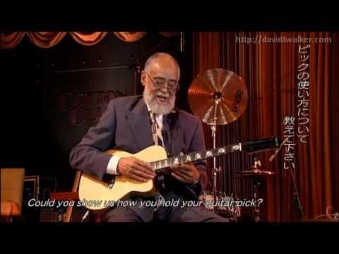 David T. Walker - Interview at Cotton Club (Part 2) [Official Video]