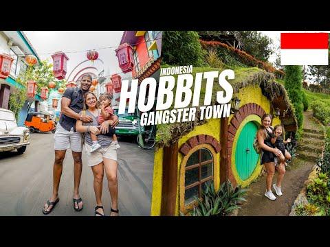 HOBBIT HOUSES & MUSEUM ANGKUT! 🇮🇩 Batu Malang, Indonesia Vlog 2021