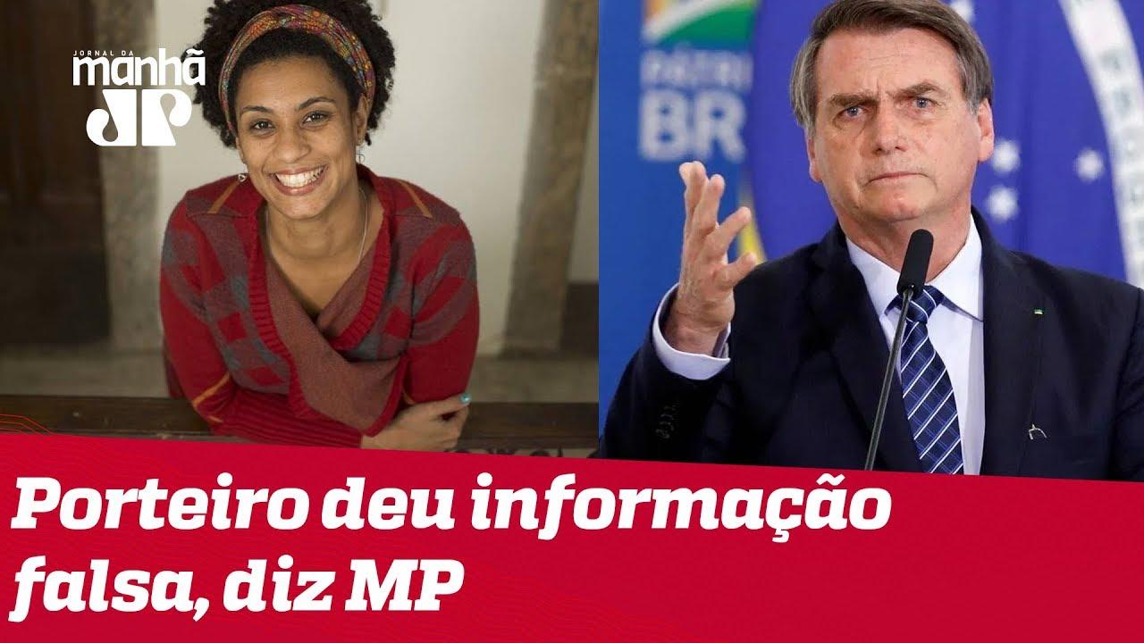 JOVEM PAN NEWS - MP diz que porteiro mentiu ao mencionar Bolsonaro no caso Marielle