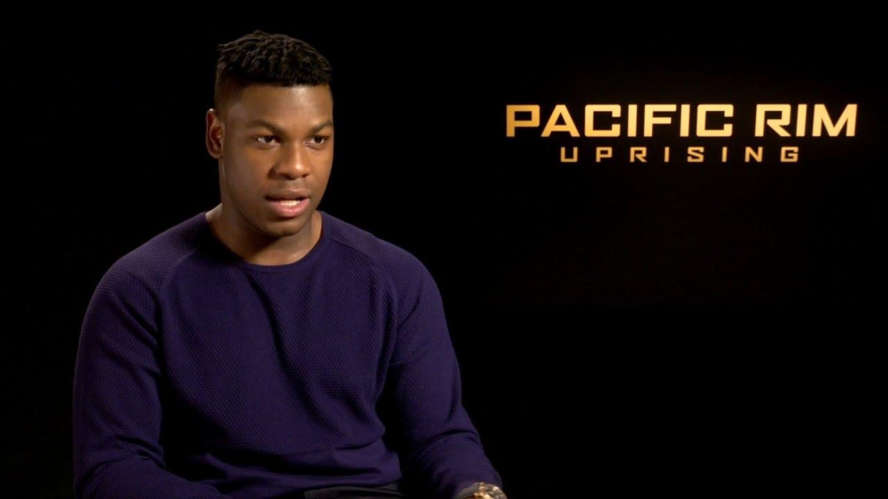 Boyega and 'Pacific Rim' crew's jet lag battle