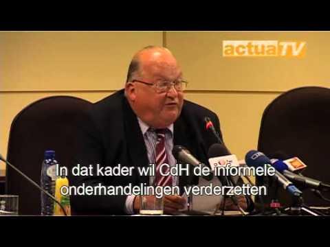 Actua-Nieuws: Rooms-Blauw enige optie volgens informateur Dehaene
