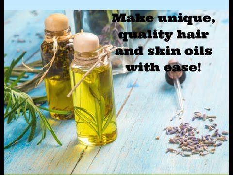 Make Your First Purely Natural Hair or Skin Oil Blend