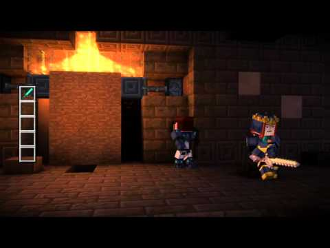 Minecraft: Story Mode episode 5 puzzle solution