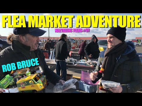 FLEA MARKET ADVENTURE #97 Hunting Toys, Video Games Talk to Rob Bruce
