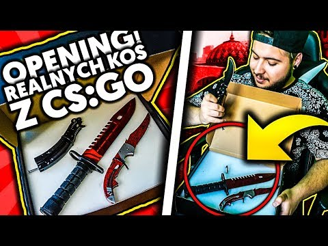 REALNE KOSY Z CS:GO! 😱 UNBOXING