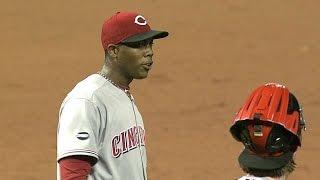 CIN@STL: Chapman's first big league save