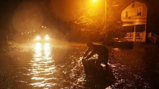 Ouragan Florence : la côte est américaine balayée par le vent et les fortes pluies