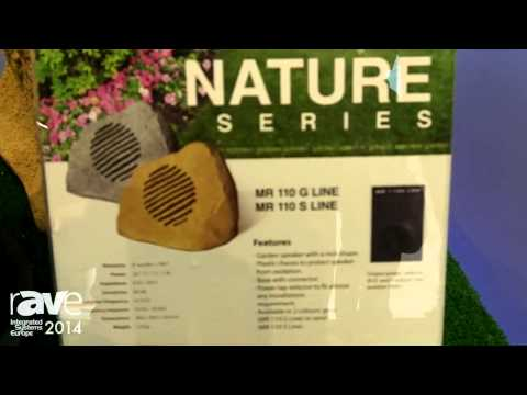 ISE 2014: Work Pro Demos the New Outdoor Garden speaker NGS 5 L