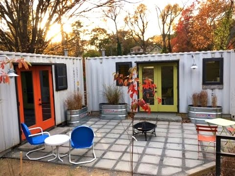 Beautiful 20' Industrial Container House