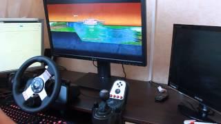 3D Инструктор 2, Учебный автосимулятор 2 - езда на руле Logitech G27(СКАЧАТЬ И КУПИТЬ ИГРУ: ..., 2014-05-22T12:25:29.000Z)