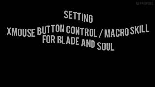 Xmouse button control / macro skill for blade and soul