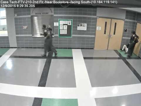 Police Brutality of Cass Tech Student at Cass Tech High School in Detroit, MI