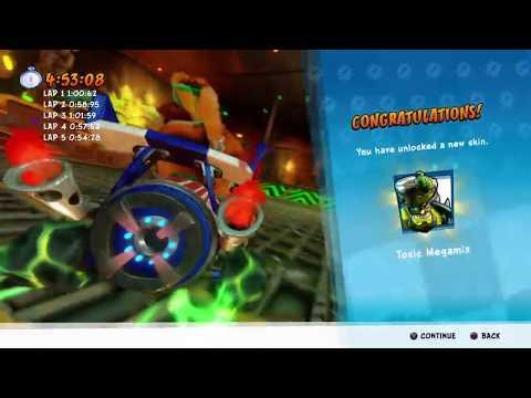 Crash™ Team Racing Nitro-Fueled - Megamix Mania - Megamix Gameplay