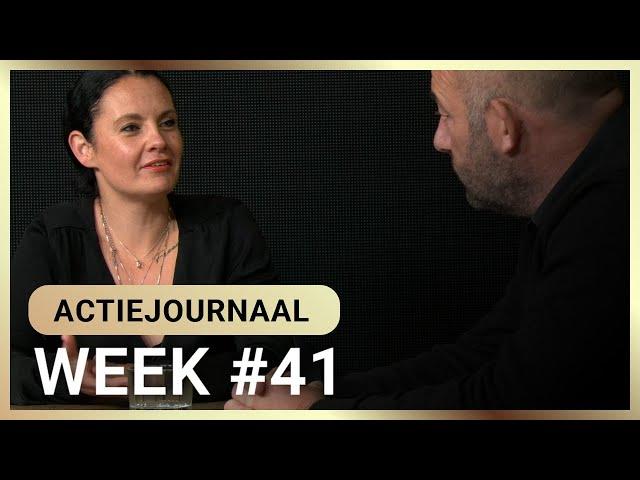 Actiejournaal week #41- Martina Groenveld en Michel Reijinga