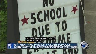 Schools closed because of heat