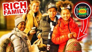 7 JÄHRIGE MIT 2.000€ OUTFIT 😱🔥💸 | WIE VIEL IST DEIN OUTFIT WERT ? | MAHAN