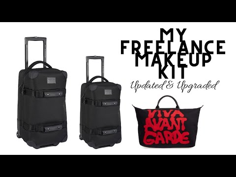 My Freelance Makeup Kit UPDATED And UPGRADED