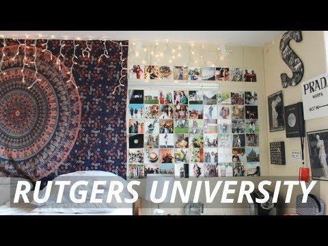 Dorm Room Tour // Rutgers University