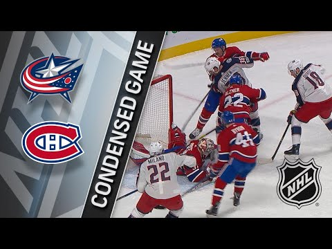 11/27/17 Condensed Game: Blue Jackets @ Canadiens