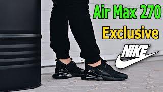 Unique New Black Nike Air Max 270 Women