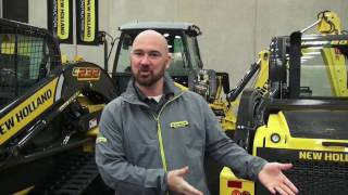 Landscaping with New Holland's light construction equipment