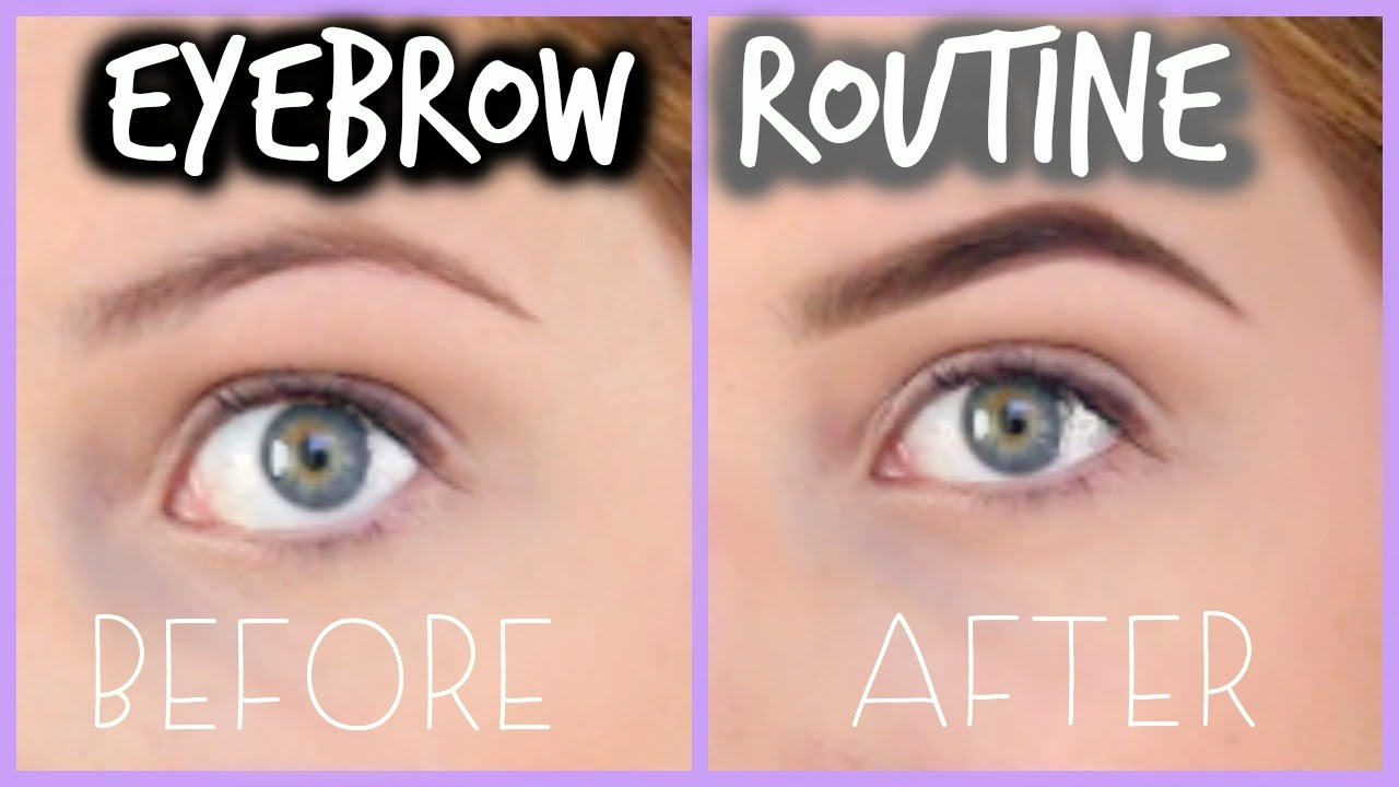 Perfect Eyebrow Tutorial For Beginners Courtney Lundquist Youtube