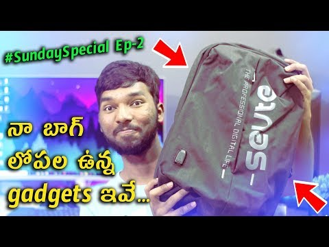 What is Inside My Tech Backpack 🔥🔥