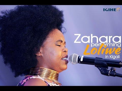 Zahara, Live Performance Of Loliwe In Kigali