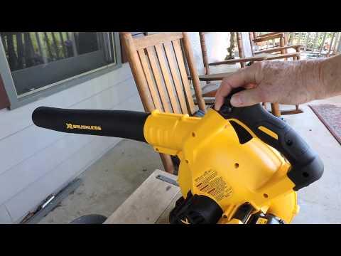 Dewalt Brushless 20 Volt Max String Trimmer Review Doovi
