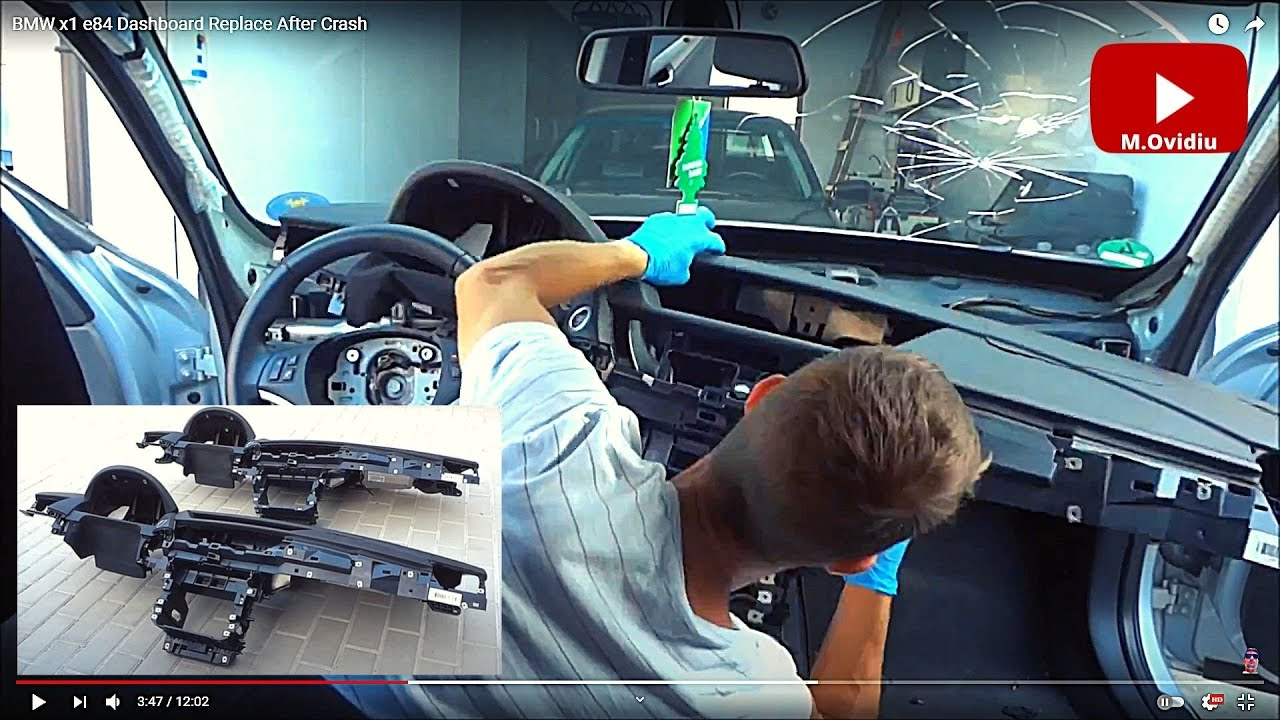 Bmw X1 E84 Dashboard Remove And Replace Youtube