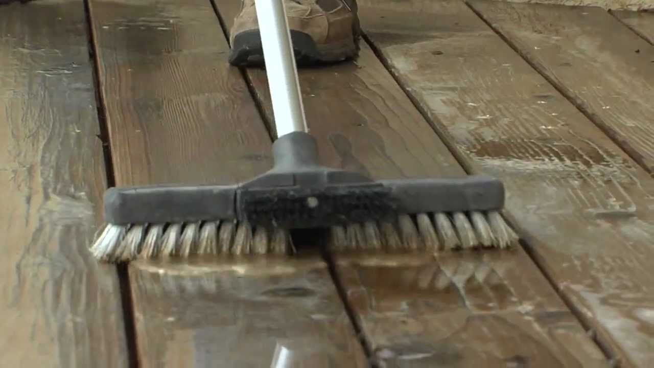 How to clean and stain a wood deck with messmers products youtube how to clean and stain a wood deck with messmers products baanklon Images