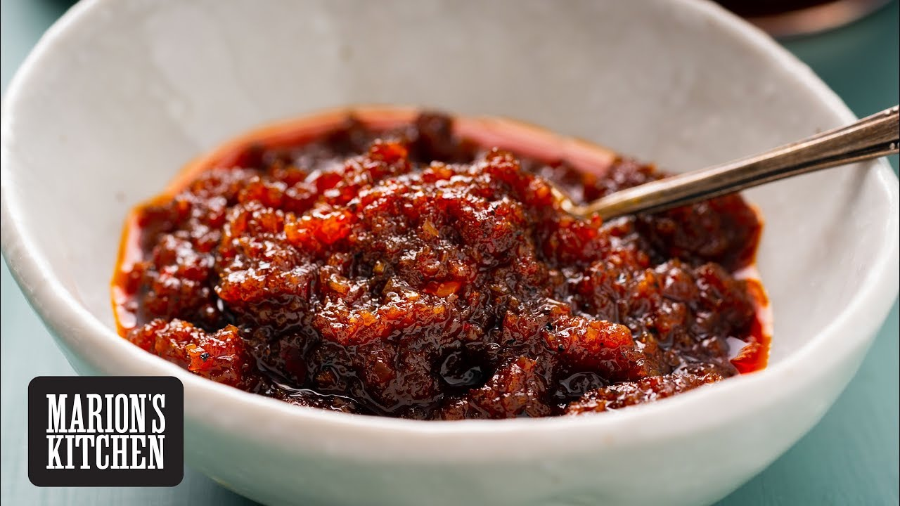 Thai Chilli Jam Nam Prik Pao Marion S Kitchen Recipe