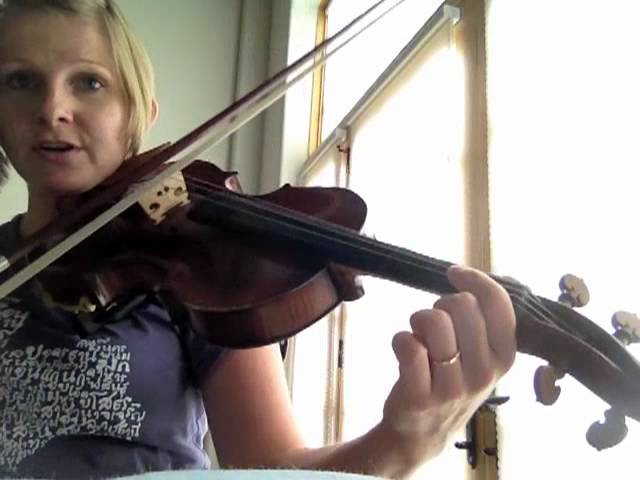 How to play a roll - Irish Fiddle Tutorial