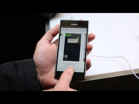 Huawei Ascend P2 hands-on video