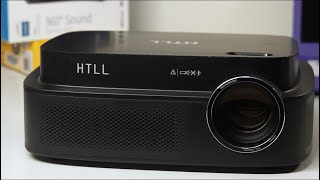 $200 HTLL HD Projector Unboxing - Best Budget Projector?