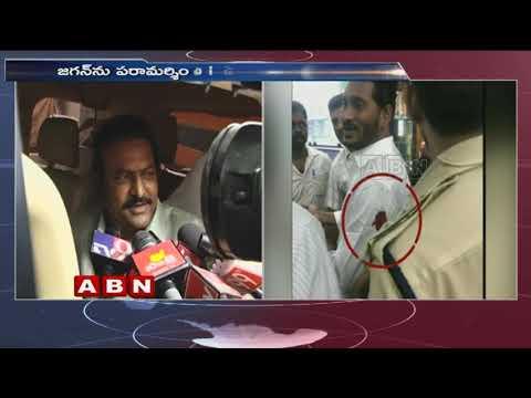 Actor Mohan Babu Meets YS Jagan Mohan Reddy   ABN Telugu