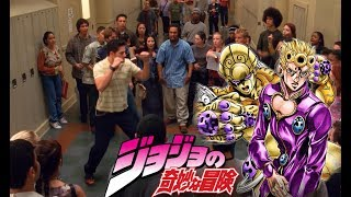 """Peter Parker vs """"Flash"""" bully but with Giorno"""