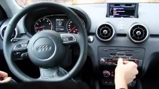 Présentation du système MMI advanced - Audi A1 Sportback