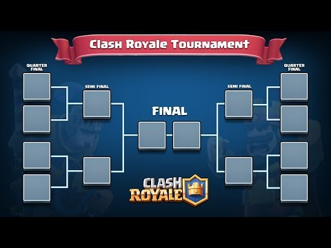 J'ORGANISE UN TOURNOI BRACKET ! CASH PRICE Clash Royale FR