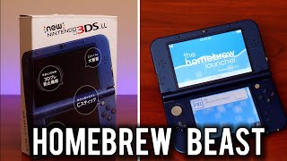 Homebrew on a $100 New Nintendo 3DS LL | MVG
