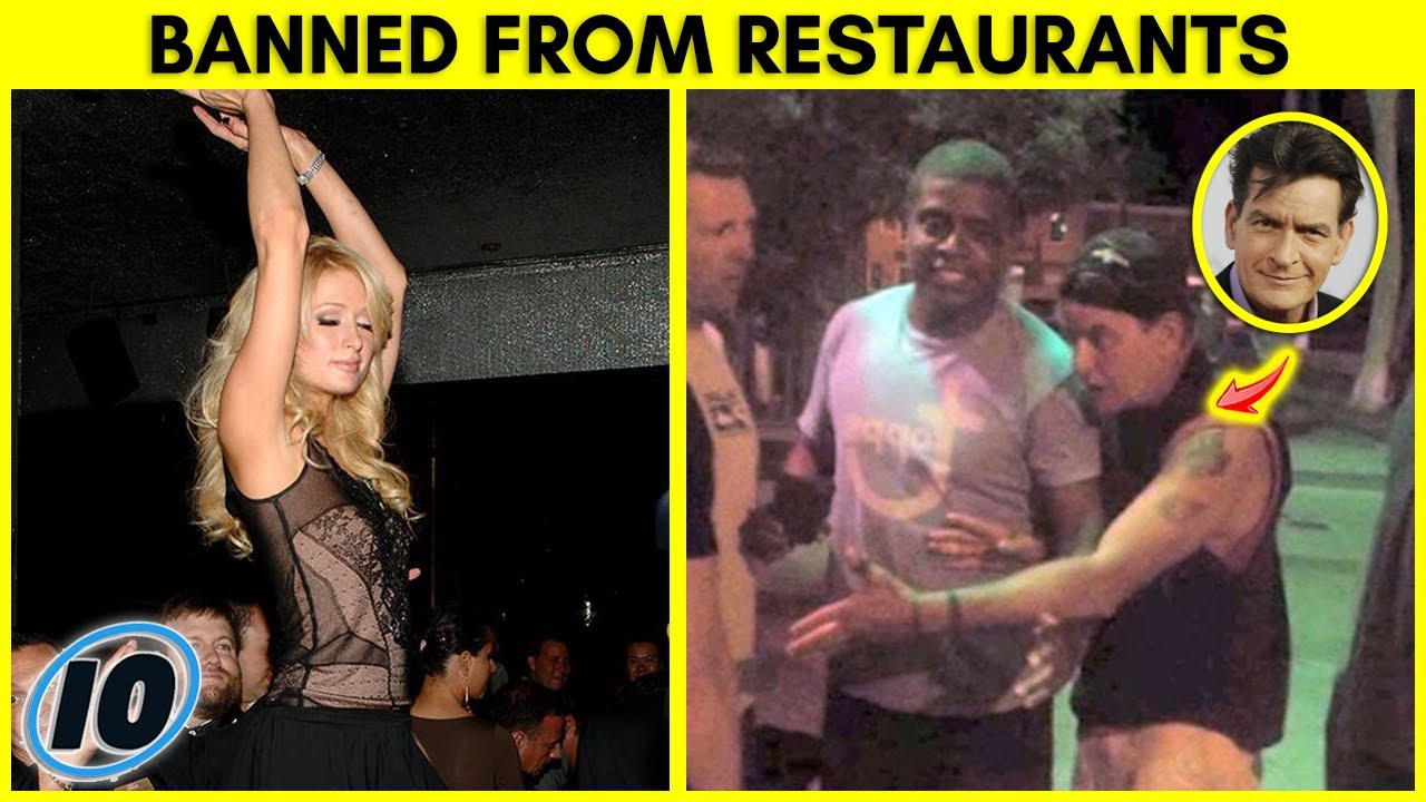 Top 10 Celebrities That Have Been Banned From Restaurants - Part 2