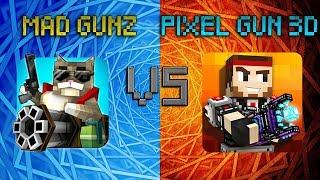 Mad GunZ (1.0.2) VS Pixel Gun 3D (12.5.0)